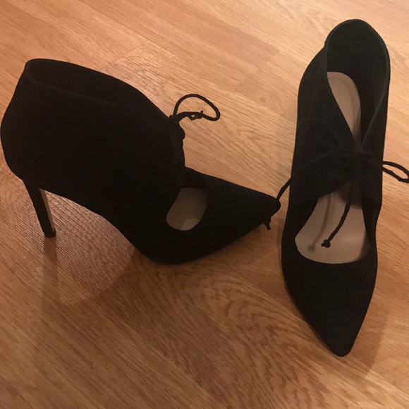 Aldo Shoes - Aldo black suede stiletto